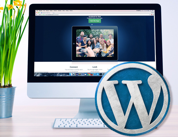 web con wordpress